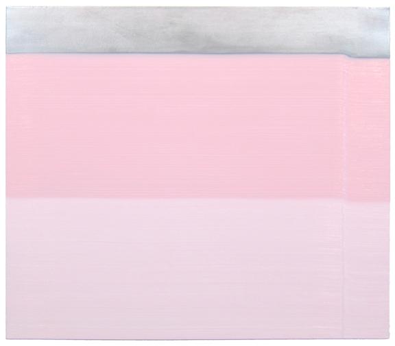 "Osamu Kobayashi, Dip , 2014,  oil on canvas, 42"" x 44"""