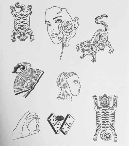 Scott Young tattoo designs