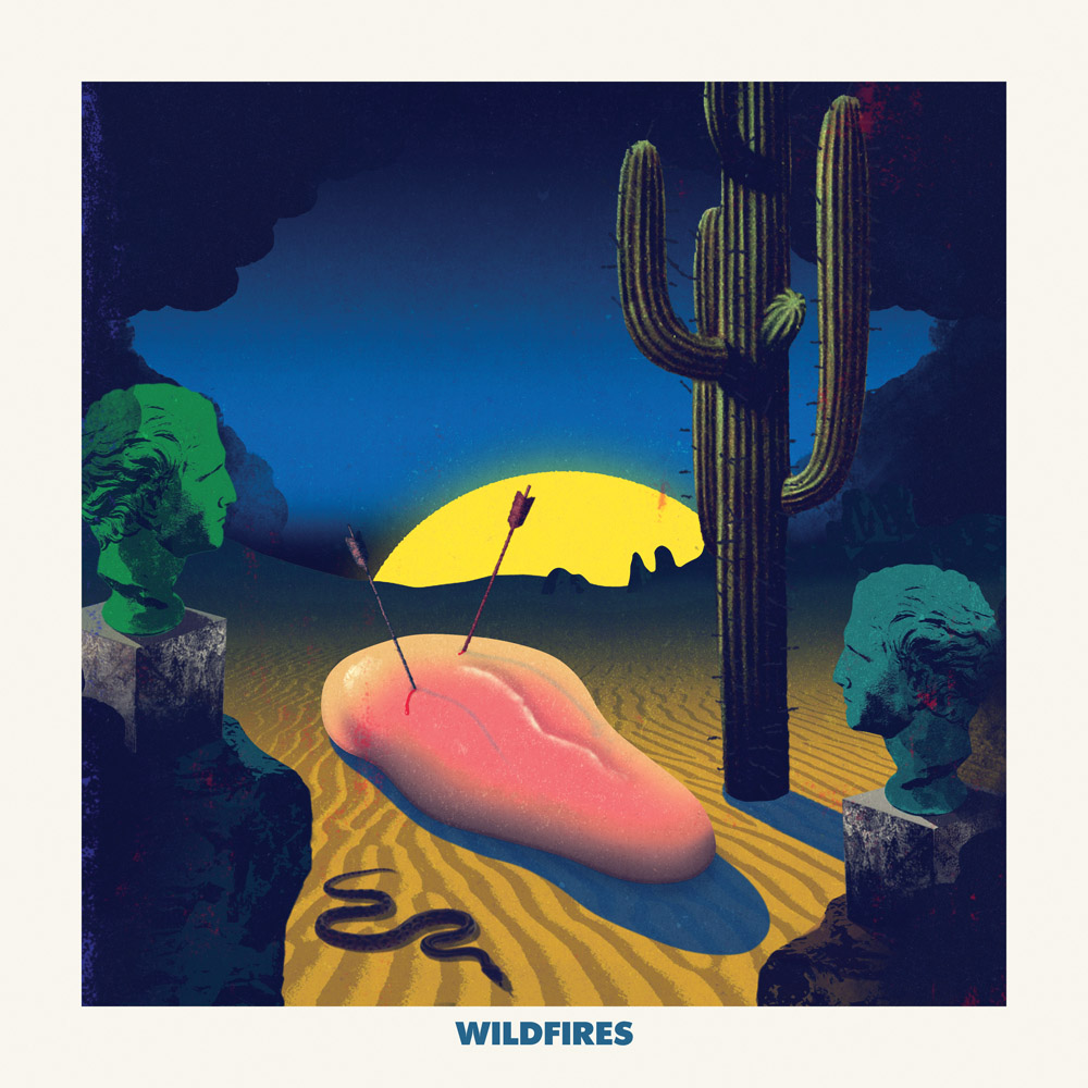 Jaime Zuverza - Wildfires cover art