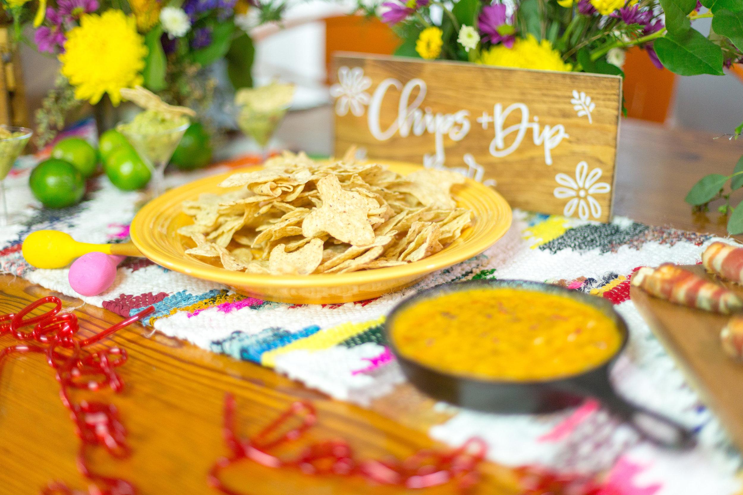 Texas chips - Cinco de Mayo