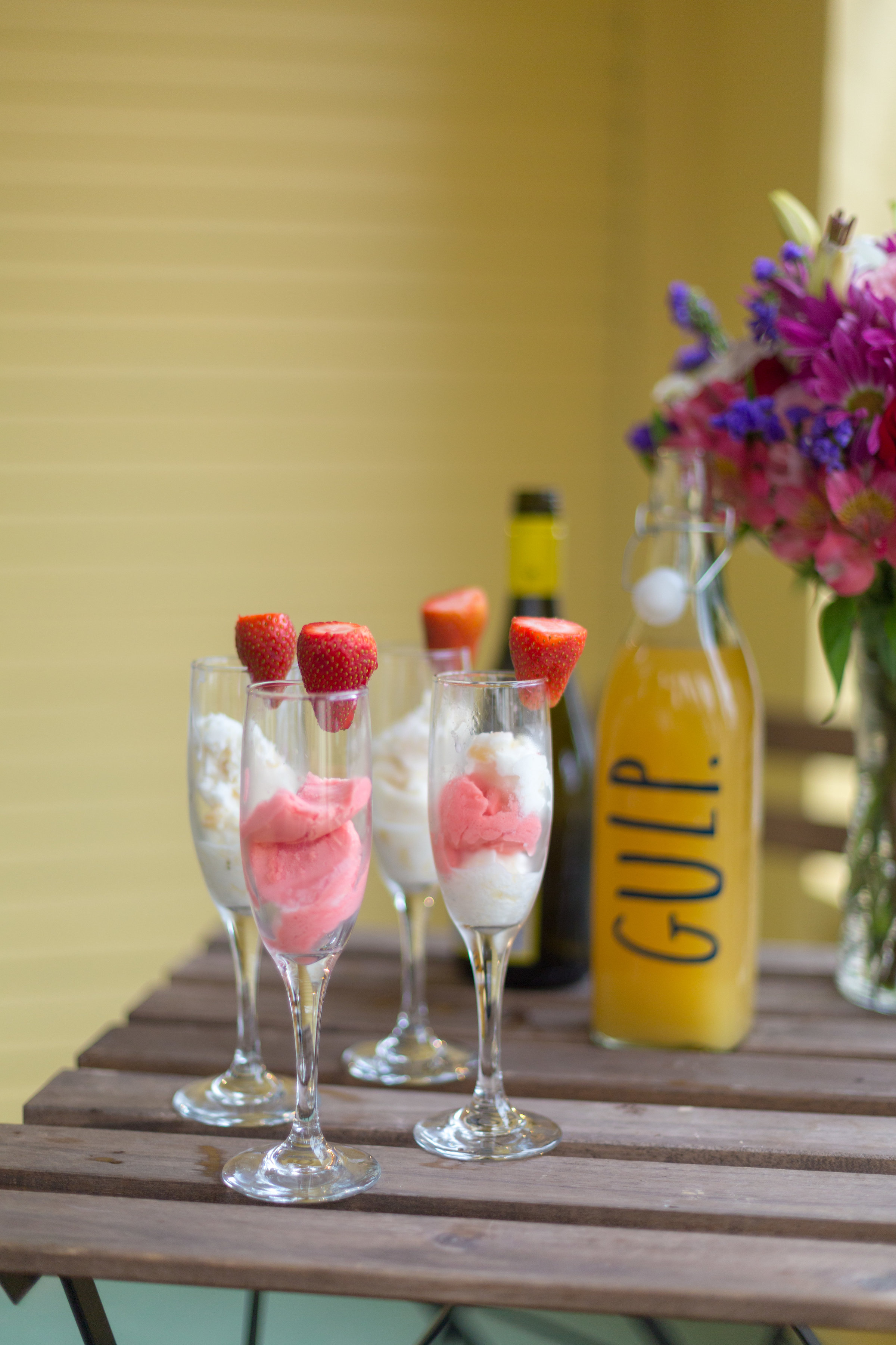 sherbet mimosa