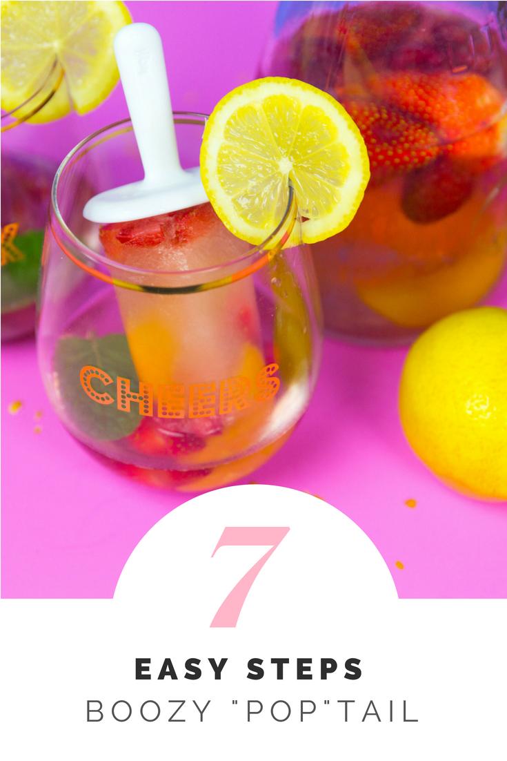 Summer Boozy Popsicle Recipe