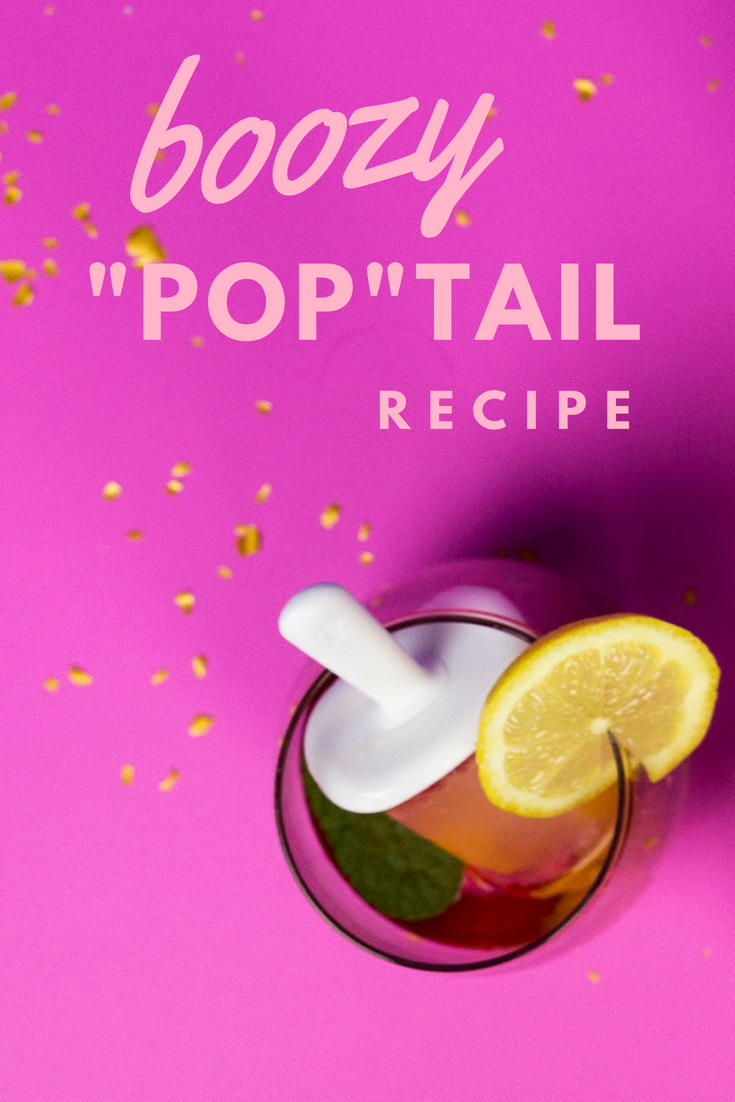 Boozy Summer Popsicle Cocktail Recipe