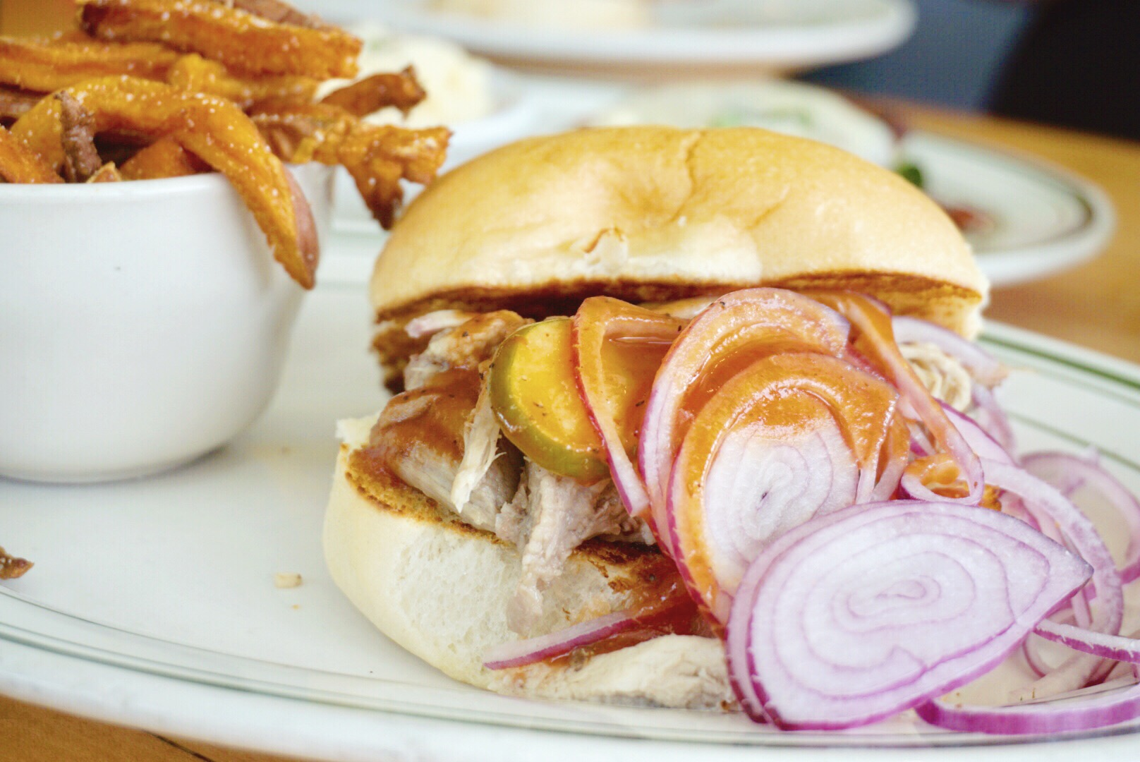Carolina Pulled Pork Lola Diner Houston Texas