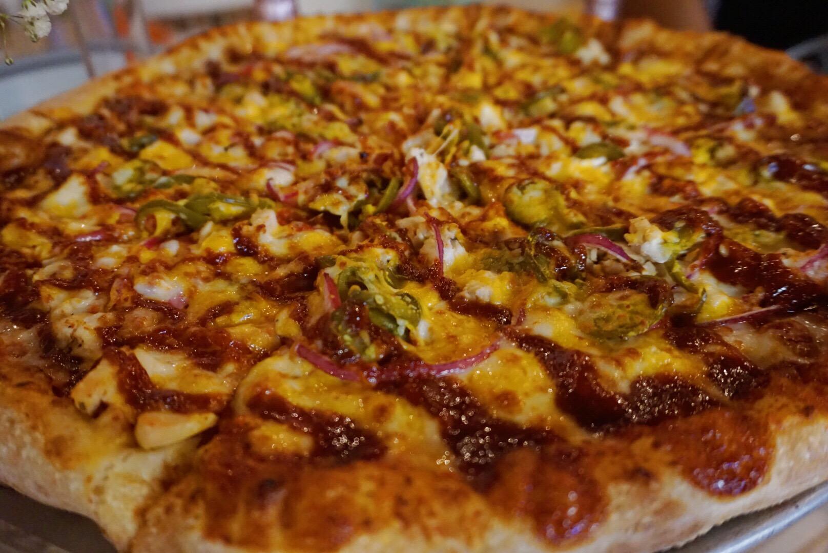 Pink's Pizza Southwestern Pizza