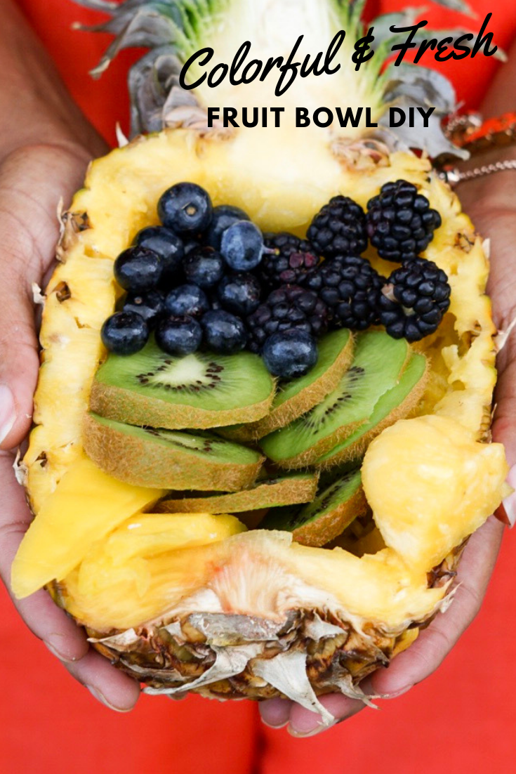 Fresh and Colorful Fruit Bowl DIY - Toast from the Host