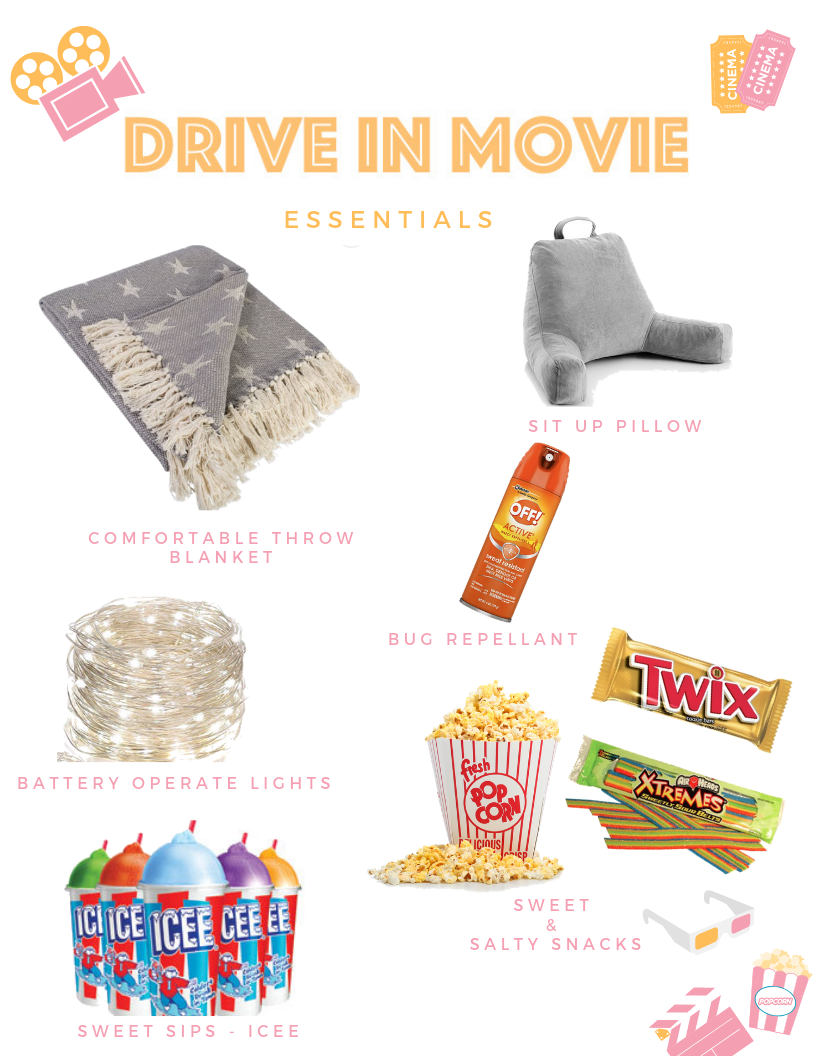 Drive In Movie Essentials - Toast from the Host