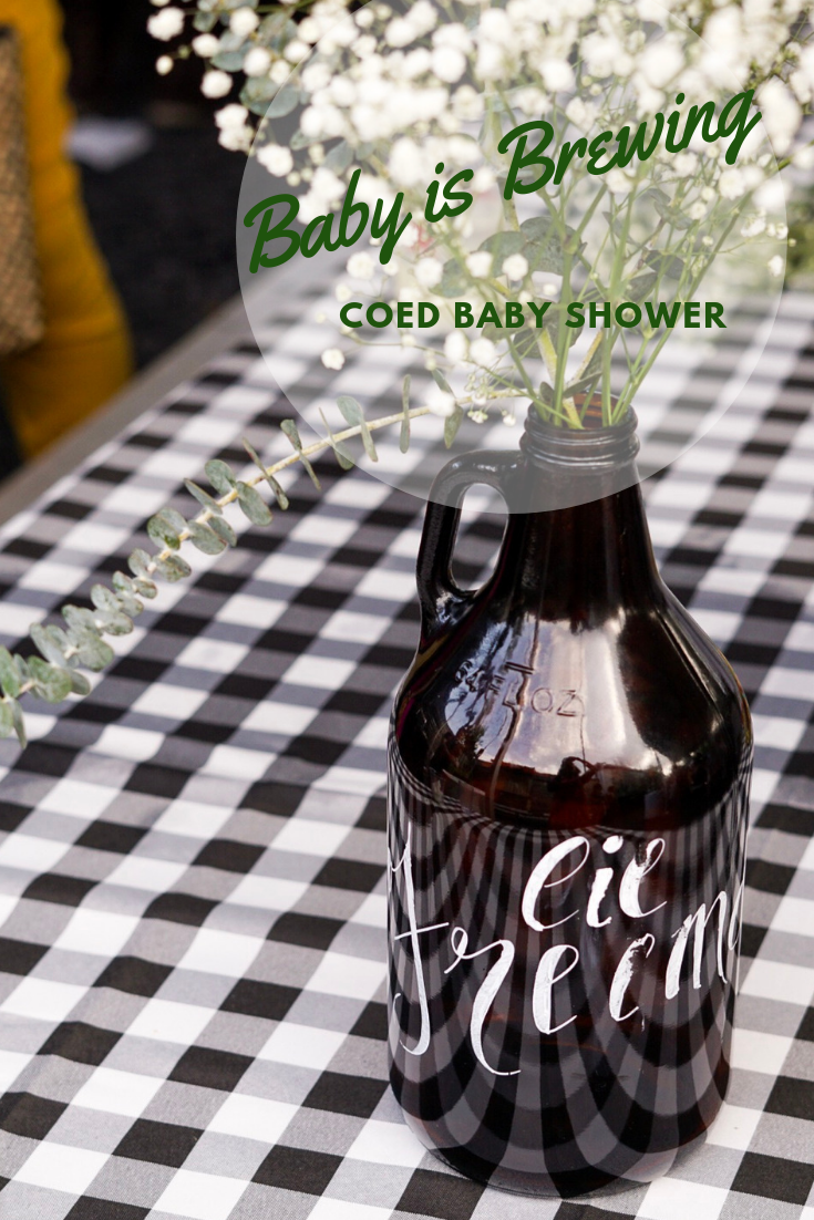 A Baby is Brewing Baby Shower Inspiration - Toast from the Host