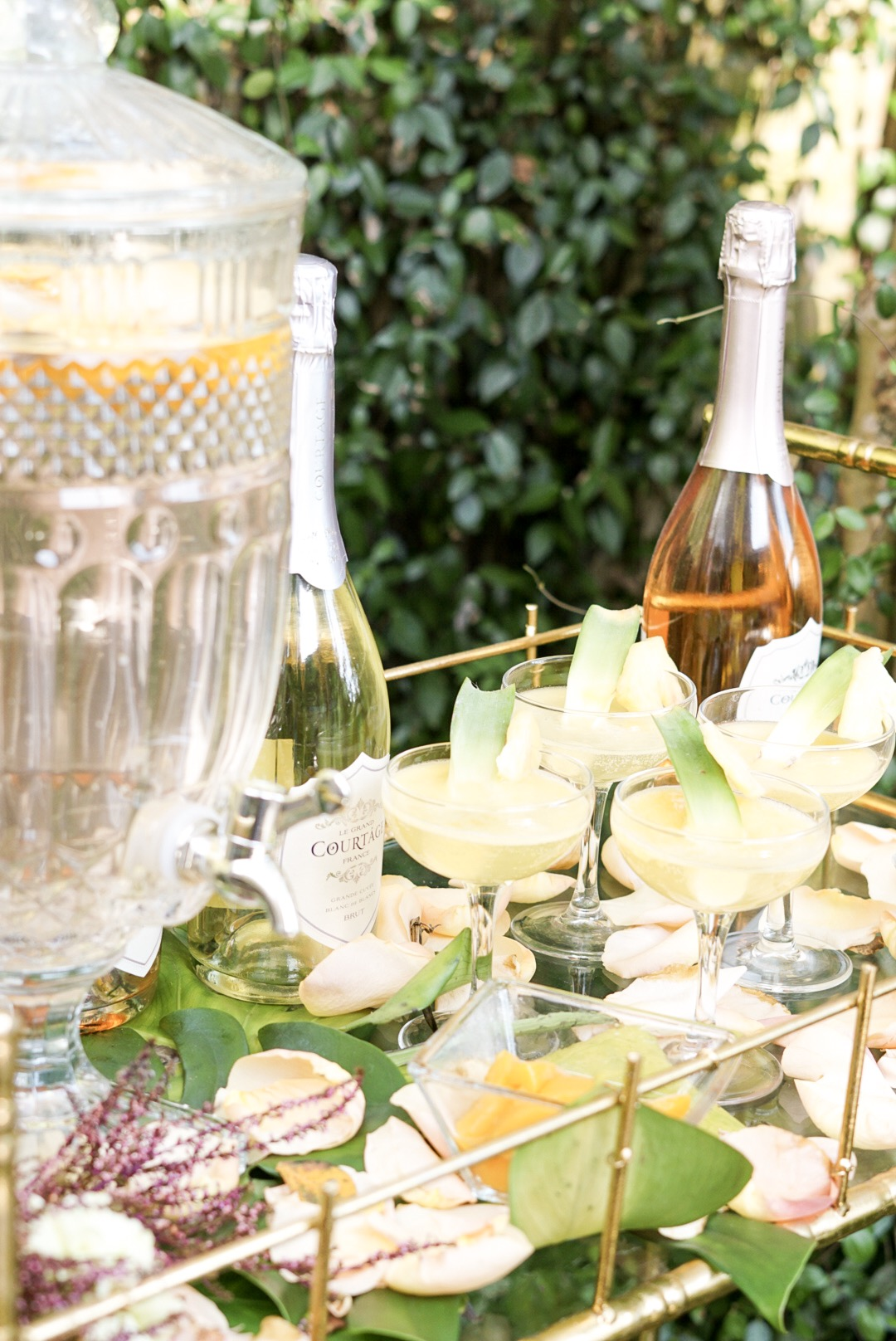 Pineapple Peach Prosecco Punch - Toast from the Host