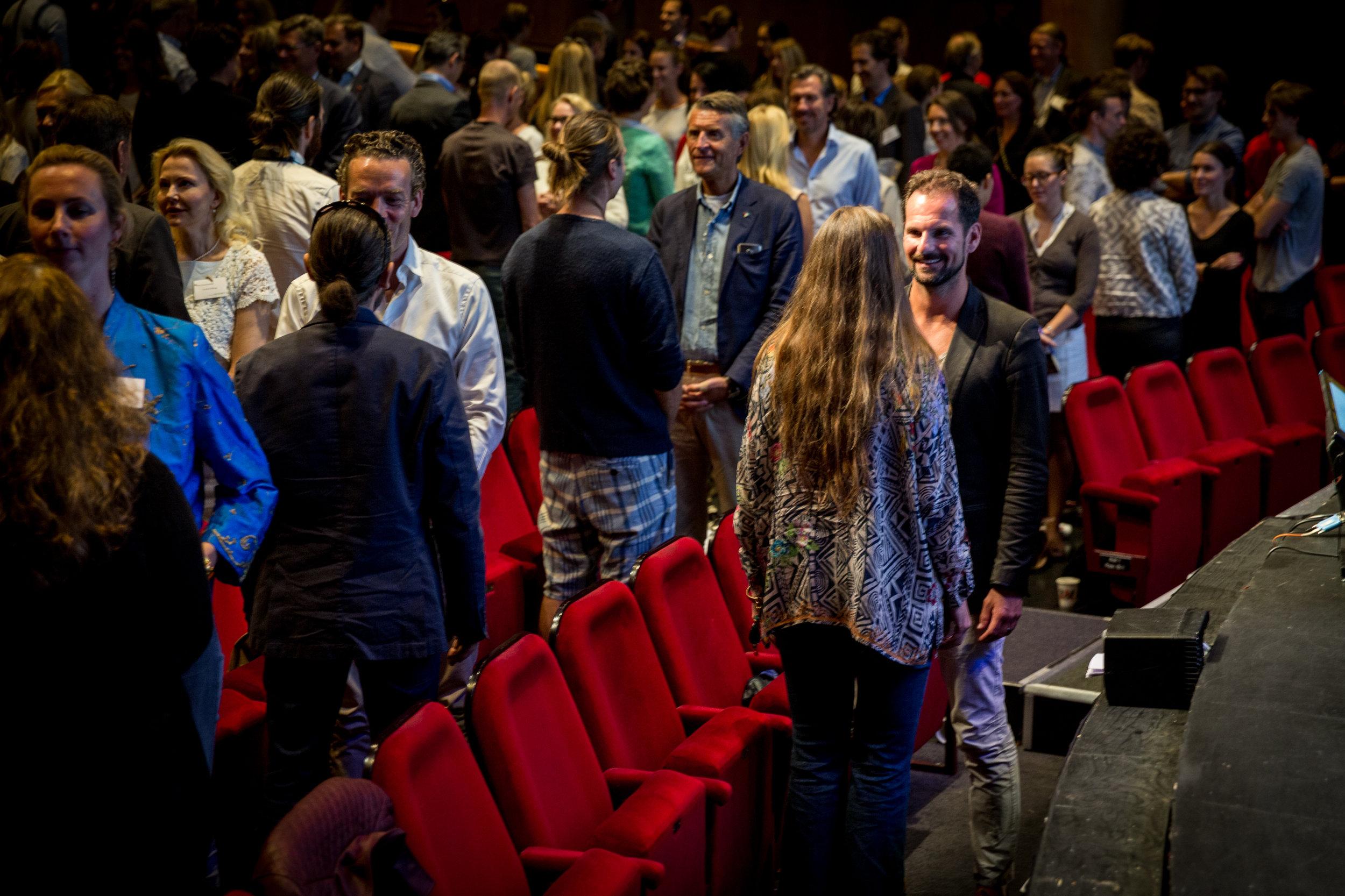 Möten under konferensen