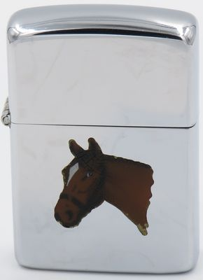 1954-55  Zippo with the   Horse