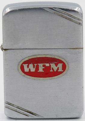 1938-39 metallique Zippo with the initials 'WFM'