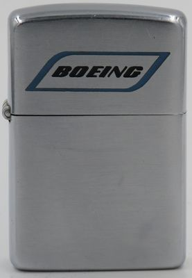 1949-51 Zippo advertising the Boeing Company