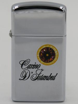 1970 T&C slim Zippo for Casino D'Istanbul