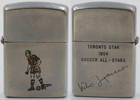 1954 Canada soccer player Toronto Star 1954 All Stars 2.jpg