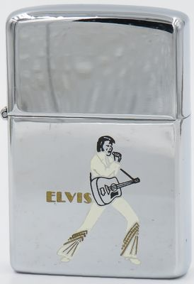This Zippo is from 1978, the year after  Elvis' death.