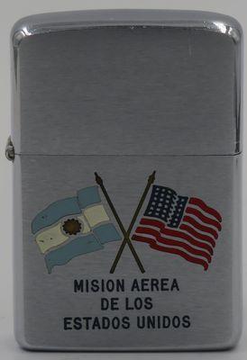 1959 Argentina US Mission Crossed Flags.JPG