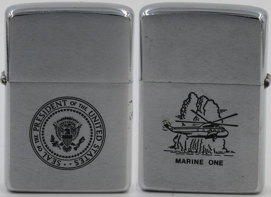 1975 Presidential Seal -  Marine One helicopter 2.