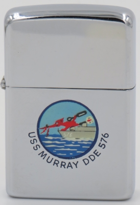 1957 Town & Country Zippo for the destroyer USS Murray