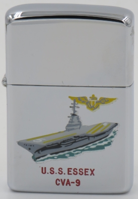 1959 T&C Zippo for the anti-submarine warfare carrier USS Essex