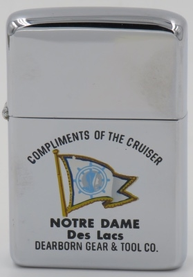 1961  Town & Country Zippo advertising  Notre Dame Des Lacs