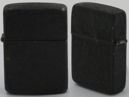 1940-41 black crackle Zippo