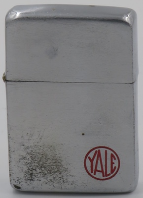 1940-41 Zippo with the Yale logo. Yale is one of the oldest lock companies in the United States