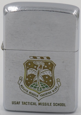 1959 Zippo for the US Air ForceTactical Missile School 4504th Missile Training Wing