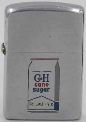 1953 Zippo for C&H Sugar. California and Hawaiian Sugar Company is an American sugar processing and distribution company