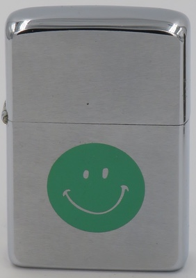 1972 Green Smiley Face.JPG
