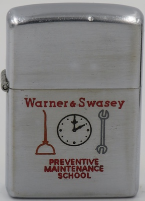 1953 Warners Swasey Maintenance.JPG