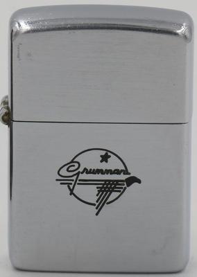 1947 Zippo with a line-drawn Grumman logo