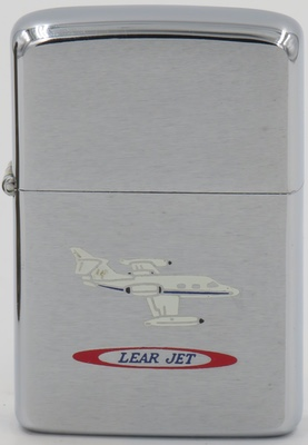 1968 Zippo with a Learjet, first flown in 1963
