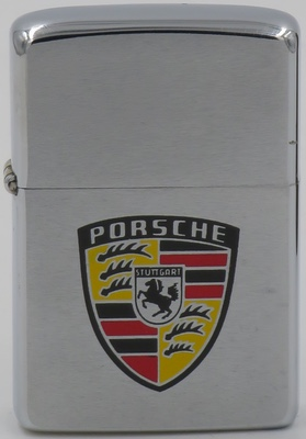 """1978 with Porsche logo.Ferdinand Porsche founded the company in 1931. One of the first assignments the new company received was from the German government to design a car for the people, that is a """"Volkswagen""""."""