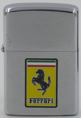 1977 Zippo with the Ferrari emblem