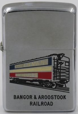 1966 Bangor Aroostook Railroad Car.JPG