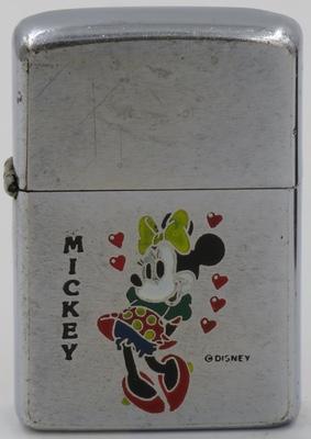 1970 Zippo Minney Mouse