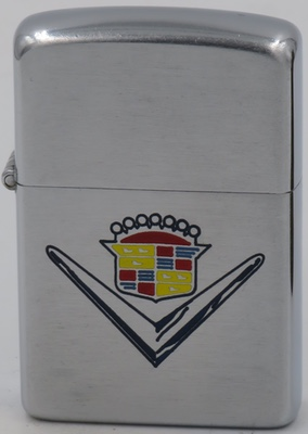 1953 Zippo with a Cadillac logo.The Cadillac Car Company (named for the French explorer Antoine Laumet de La Mothe Cadillac, who founded the city of Detroit in 1701) was founded in August 1902. The first Cadillac–priced at $850–was introduced at the New York Auto Show in 1903