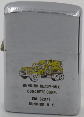 1959 Zippo with cement truck for Dunkirk Ready-Mix Concrete Corp. Dunkirk, NY