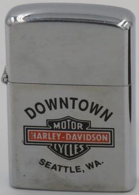 Barlow lighter Seattle Harley Davidson