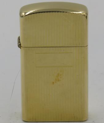 c1958 slim 14K Gold Zippo