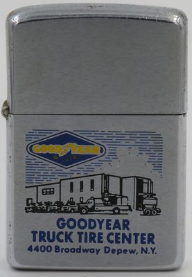 1972 Zippo for Good Year Truck Tire Center in Depew, New York