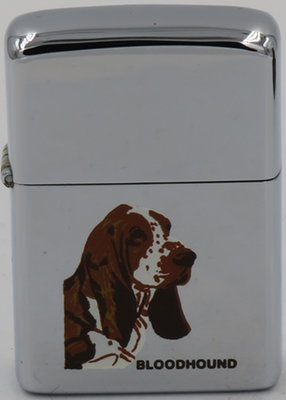 1979 Zippo with a Bloodhound