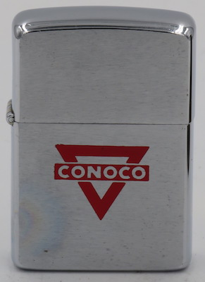 1965 Zippo with a Conoco logo
