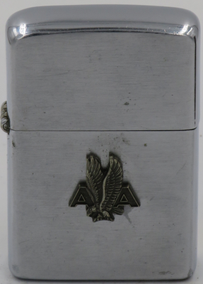 1956 Zippo with 1946 Scandinavian Airlines Zippo logo attached. American Airlines was founded in 1934
