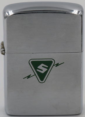 1953 Zippo Sylvania Electric Products  was a U.S. manufacturer of diverse electrical equipment, including at various times radio transceivers,  vacuum tubes , semiconductors, and mainframe computers such as  MOBIDIC . They were one of the companies involved in the development of the  COBOL  programming language
