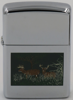 1994 deer in woods setting.JPG