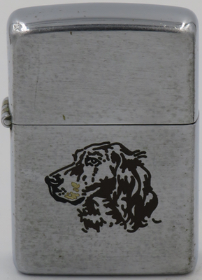 1949-50 Zippo with a setter