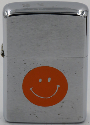 1972 Orange Smiley Happy face.JPG