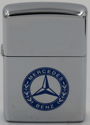 1994 Mercedes Benz Zippo. The Company resulted from the 1926 merger of Gottlieb Daimler's Daimler Motor Company and Benz & Company, both founded in 1890